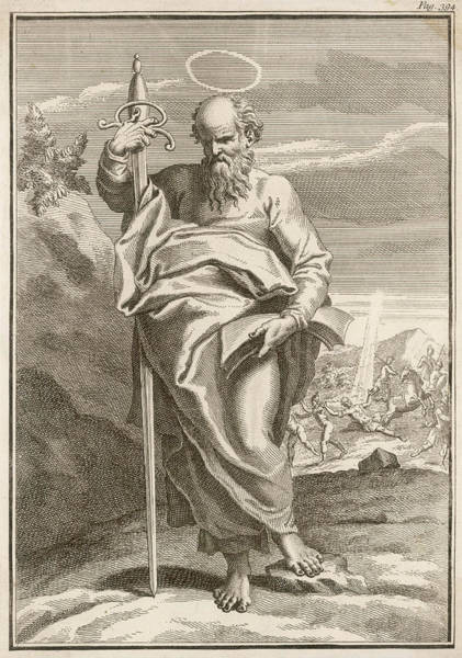 Wall Art - Drawing - Saint Paul The Apostle, Paul Of Tarsus by Mary Evans Picture Library