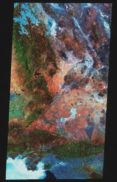 Wall Art - Photograph - San Andreas Fault by Mda Information Systems/science Photo Library
