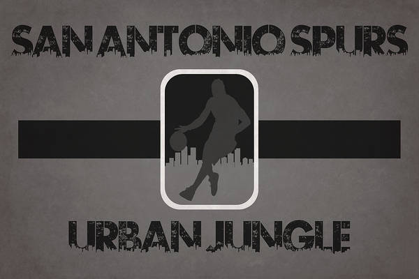 San-antonio Photograph - San Antonio Spurs by Joe Hamilton