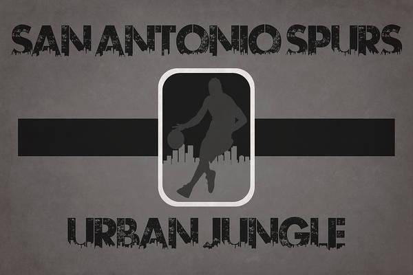 San Antonio Photograph - San Antonio Spurs by Joe Hamilton