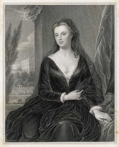 Wall Art - Drawing - Sarah, Duchess Of Marlborough Wife by Mary Evans Picture Library