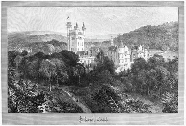 Wall Art - Painting - Scotland Balmoral Castle by Granger
