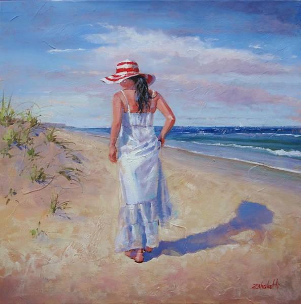 Sand Dune Painting - My Time by Laura Lee Zanghetti