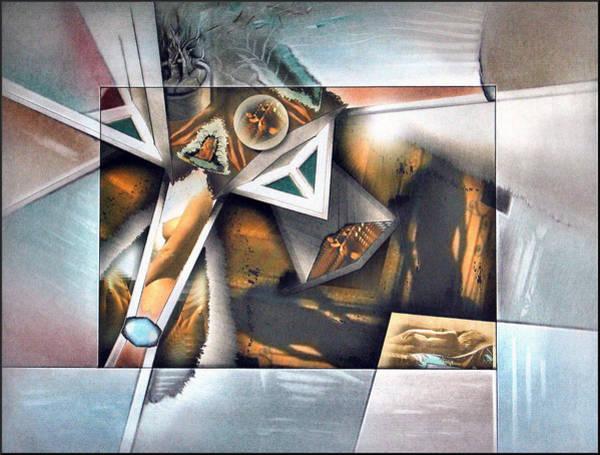 Mixed Media - #3 Shadownudecomp 2003 by Glenn Bautista