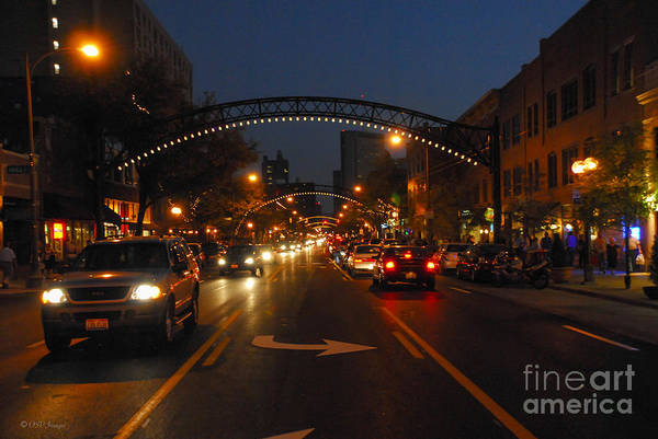 Photograph - D8l-152 Short North Gallery Hop Photo by Ohio Stock Photography