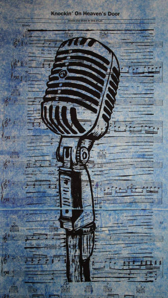 Drawing - Shure 55s On Music by William Cauthern