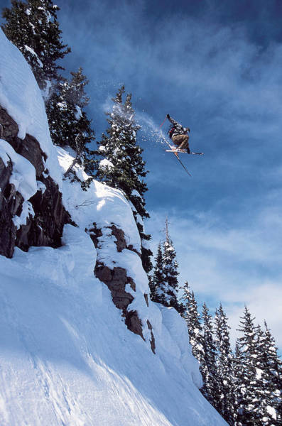 Wall Art - Photograph - Skiing by Jack Affleck