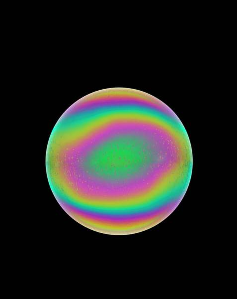 Soap Bubble Photograph - Soap Bubble by David Parker