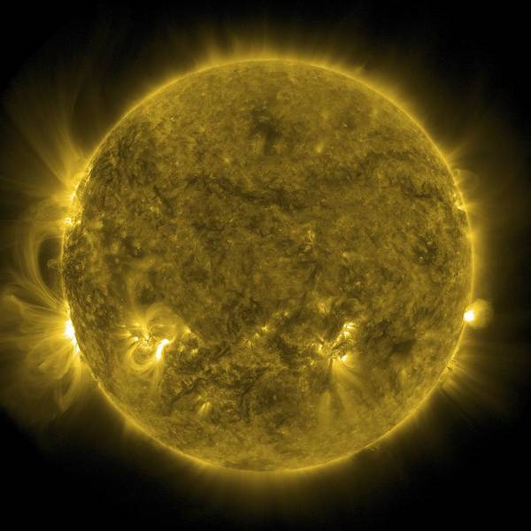 21st Century Photograph - Solar Activity, Sdo Ultraviolet Image by Science Photo Library