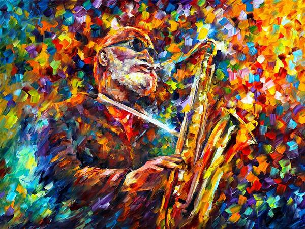 Wall Art - Painting - Sonny Rollins by Leonid Afremov