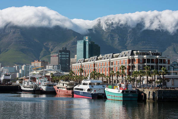 Oceanfront Photograph - South Africa, Cape Town by Cindy Miller Hopkins