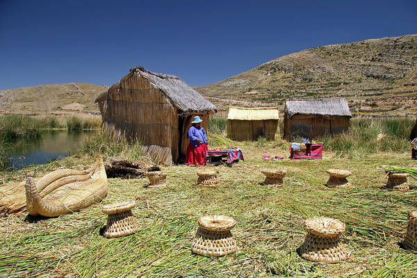 Aymara Wall Art - Photograph - South America, Bolivia, Lake Titicaca by Kymri Wilt