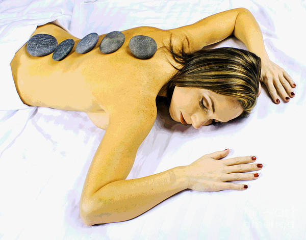 Photograph - Spa Massage by Larry Oskin