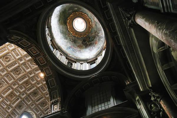 Photograph - St. Peter's Basilica by KG Thienemann