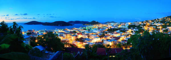 Photograph - St Thomas Mountain View In Early Morning by Songquan Deng