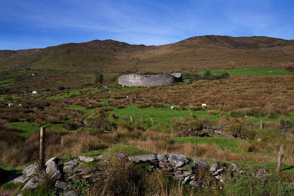 Moorland Photograph - Staigue Fort At 2,500 Years Old One by Panoramic Images