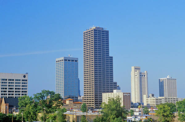 Ar Photograph - State Capital And Skyline In Little by Panoramic Images