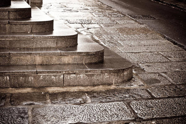 Rise Above Wall Art - Photograph - Stone Steps by Tom Gowanlock