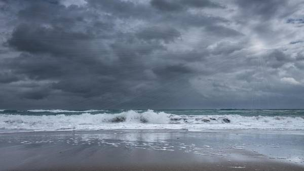 Photograph - Stormy Seascape by Rudy Umans