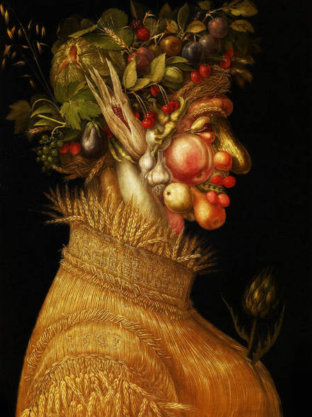 Digital Art - Summer by Giuseppe Arcimboldo