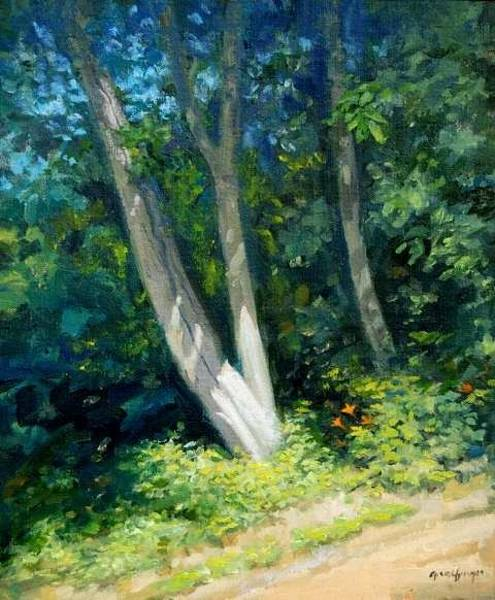 Painting - Sunlit Morning by Mel Greifinger