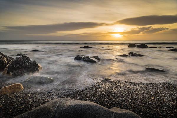 Konica Wall Art - Photograph - Sunrise In White Rock Dalkey Ireland by Giuseppe Milo