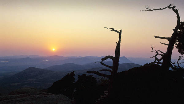 Photograph - Sunset From Mt Scott by Richard Smith