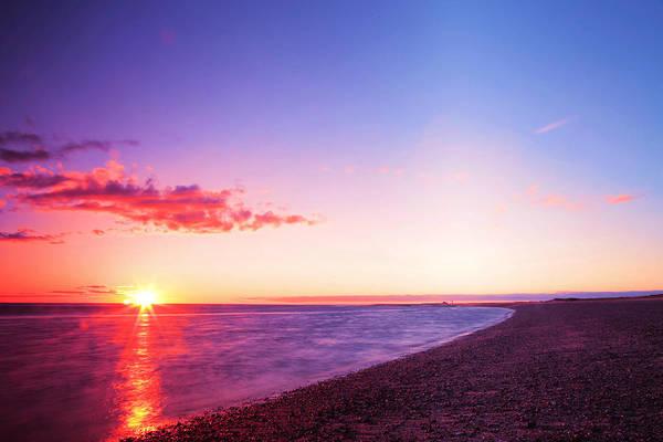 Wall Art - Photograph - Sunset In Cape Cod Boston Massachusetts by Paul Ge