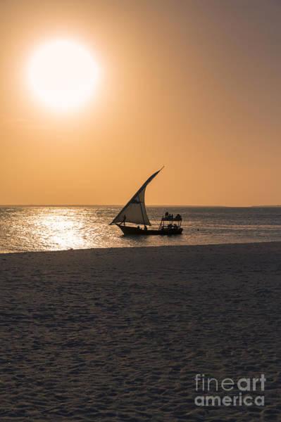 Sunset In Zanzibar Art Print by Pier Giorgio Mariani