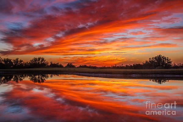 Wall Art - Photograph - Sunset Reflections by Robert Bales