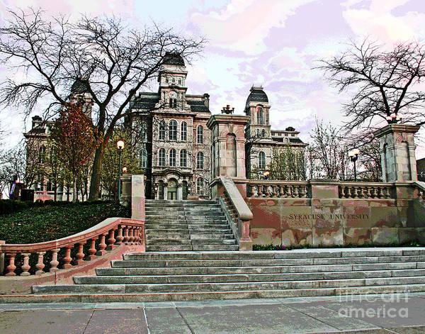 Photograph - Syracuse University by Larry Oskin