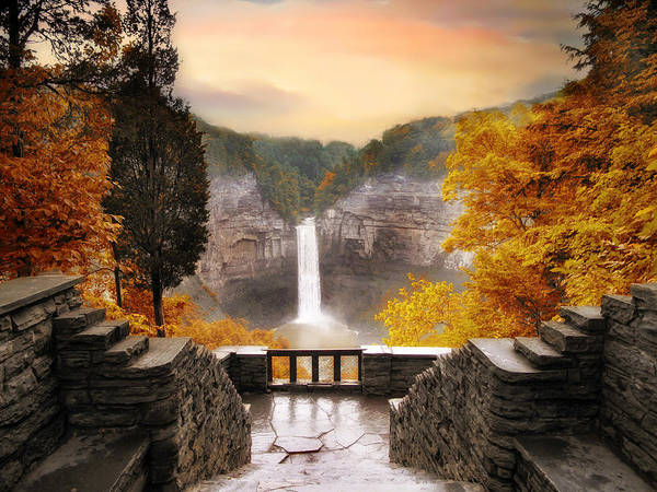 Photograph - Taughannock Falls by Jessica Jenney