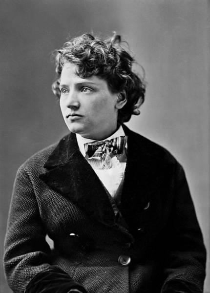 Mathew Photograph - Tennessee Celeste Claflin (1846-1923) by Granger