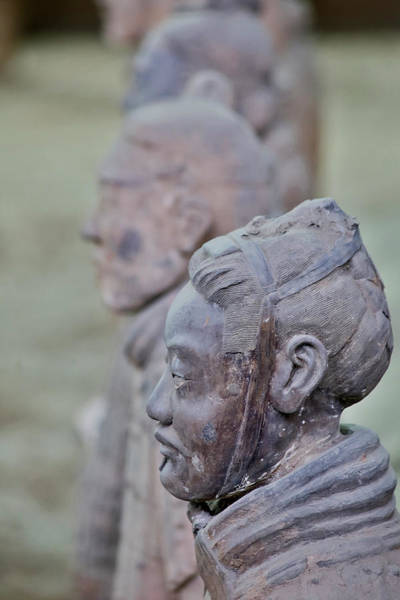 World Heritage Site Photograph - Terracotta Soldiers Unesco World by Darrell Gulin