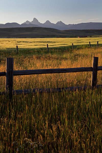 North Idaho Photograph - Teton Mountains by Jim West