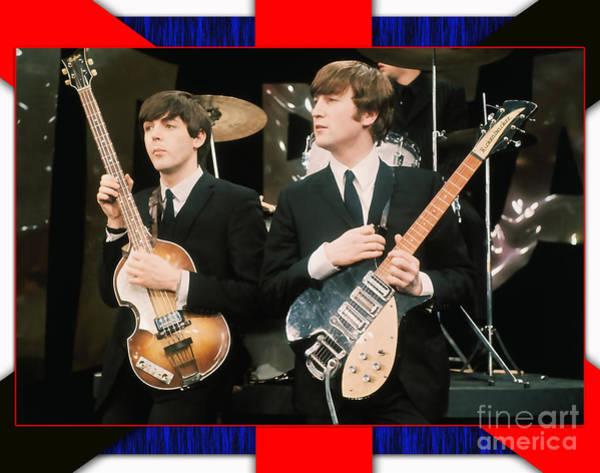 Ringo Star Mixed Media - The Beatles by Marvin Blaine