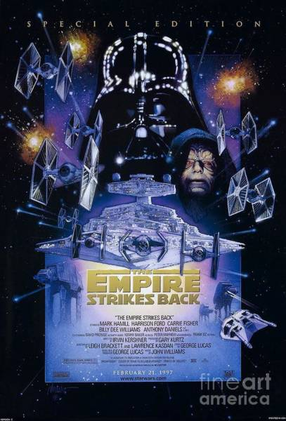 Empire Mixed Media - The Empire Strikes Back by Baltzgar