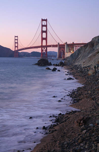 Surf City Usa Photograph - The Golden Gate Bridge by Feargus Cooney