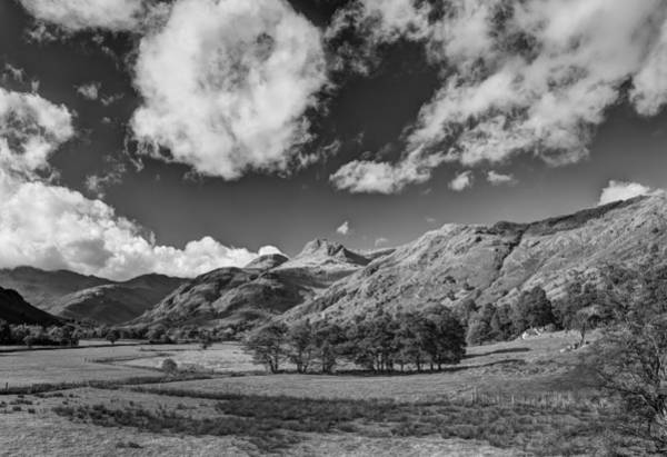 Wall Art - Photograph - The Langdale Pikes by Graham Moore