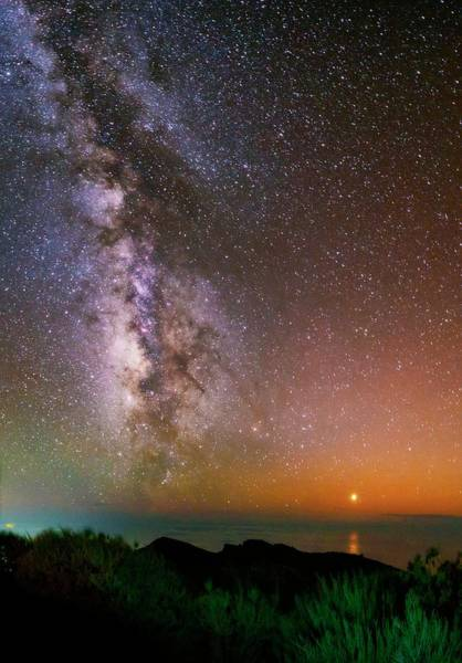 Astronomical Twilight Photograph - The Milky Way by Babak Tafreshi