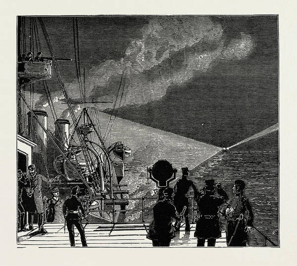 Wall Art - Drawing - The Naval Manoeuvres by Litz Collection