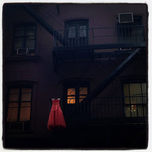 Photograph - The Red Gown by Natasha Marco
