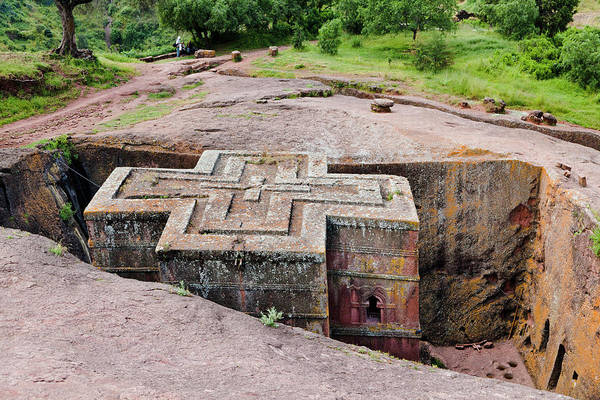 Pilgrimage Photograph - The Rock-hewn Churches Of Lalibela by Martin Zwick