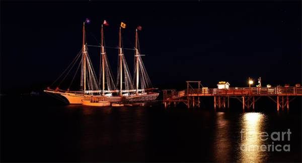 Photograph - The Schooner Margaret Todd. by New England Photography