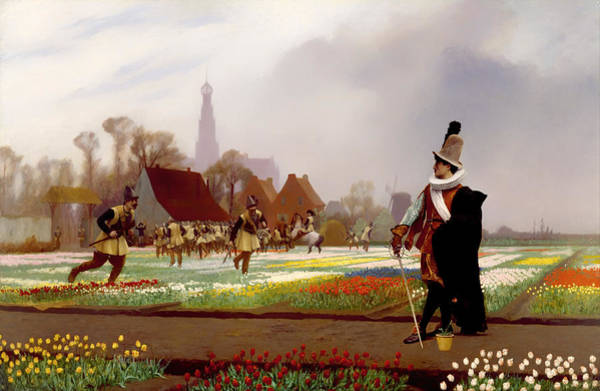 Dutch Tulip Painting - The Tulip Folly by Mountain Dreams