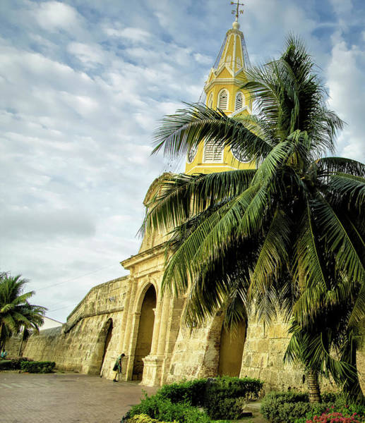 Cartagena Photograph - The Venerable Clock Tower, Torre Del by Jerry Ginsberg