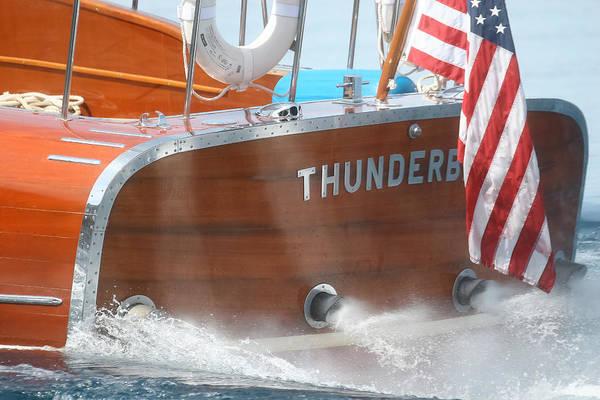Photograph - Thunderbird Transom by Steven Lapkin