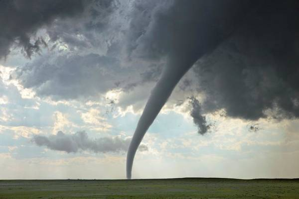 Wall Art - Photograph - Tornado by Roger Hill/science Photo Library