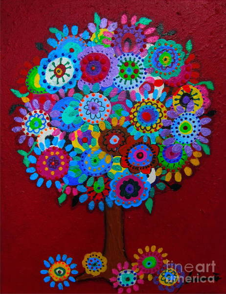 Painting - Tree Of Hope by Pristine Cartera Turkus
