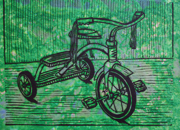 Tricycle Art Print